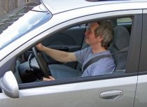 driving with backpain
